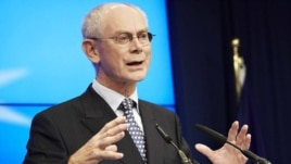 European Commission President Herman Van Rompuy