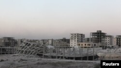 Многие сирийские города в результате боевых действий оказались разрушенными (архивное фото)