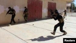 قوات عراقية في عملية إنتشار بدبالى