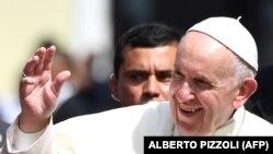 Papa Françesku, fotografi nga arkivi.
