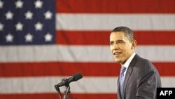 فاصله باراک اوباما با هيلاری کلينتون ديگر نامزد دموکرات همچنان اندک است.