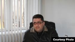 Мэр Чаренцавана Акоп Шахгалдян, 23 января 2011 г. (фотография - Гагик Шамшян)