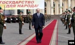 Лукашэнка ідзе на трэці прэзыдэнцкі тэрмін