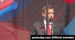 Ватажок угруповання «ДНР» Олександр Захарченко у Донецьку. 25 жовтня 2015 року (Фото з сайту: www.pauluskp.com)