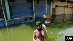 Пакистан во время наводнения