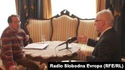 Ivo Josipović u razgovoru sa novinarom RSE Enisom Zebićem