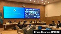 Заседание Центральной избирательной комиссии. Нур-Султан, 15 апреля 2019 года.