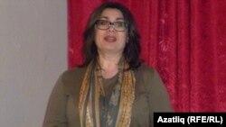 Өлкәнең мәгарифне үстерү институты хезмәткәре Елена Генгель