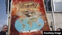 فرش ایرانی برای صلح با آمریکا