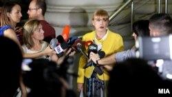 Vilma Ruskoska, prokurorja e lëndës ndaj prokurores speciale, Katica Janeva