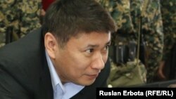 Бывший председатель национальной компании «Астана ЭКСПО-2017» Талгат Ермегияев, обвиненный по делу о хищениях в этой компании. Астана, 4 апреля 2016 года.