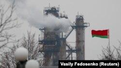 Мазырскі нафтаперапрацоўчы завод, архіўнае фота.