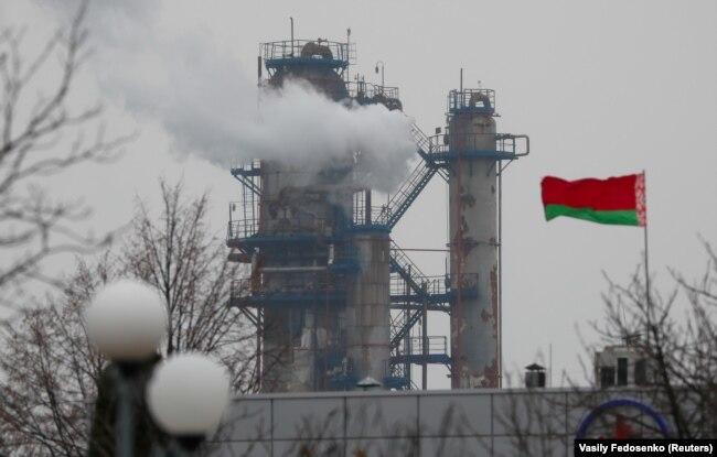Нефтеперерабатывающий завод в Мозыре
