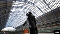 Лондон. Отсюда уходят поезда под Ла-Манш