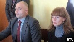 Главният секретар на МВР Ивайло Иванов и окръжният прокурор на Плевен Ваня Савова