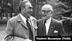 Арманд Хаммер и Леонид Брежнев, 1978