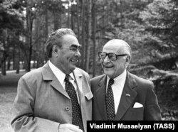 Арманд Хаммер и Леонид Брежнев, 1978 год