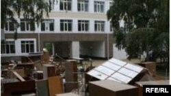 Жаңа оқу жылы басталуда, ал кейбір мектептерде жөндеу жалғасуда. Қостанай, 25 тамыз, 2009 жыл
