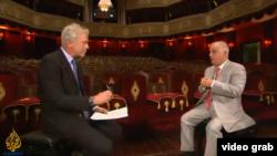 Daniel Barenboim într-un interviu cu Aj Jazeera, la Doha, în Qatar