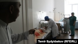 Кыргызстандагы ооруканалардын бири. Иллюстрациялык сүрөт.