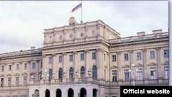 Санкт-Петербург, Мариинский дворец. Здесь работает Законодательное собрание