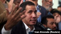 The United States and more than 50 governments recognize opposition leader Juan Guaido as interim president of the country.