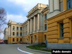Здание Саратовского университета