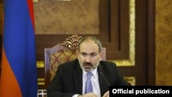 Премьер-министр Армении Никол Пашинян, Ереван, 22 февраля 2019 г.
