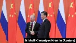 Vladimir Putin i Xi Jinping, Peking