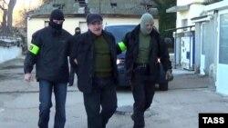 Задержание Леонида Пархоменко. Севастополь, ноябрь 2016 года