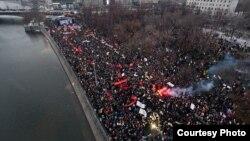 10 декабря 2011 года, Болотная площадь - начало консолидации российской оппозиции