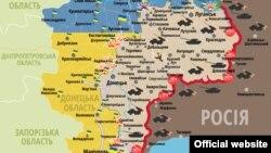 Сытуацыя ў зоне баявых дзеньняў на Данбасе на 5 траўня