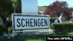 Biciclişti la Schengen.