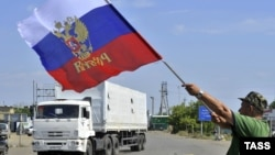 Російський «гуманітарний конвой», архівне фото