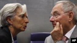 Германскиот и францускиот министер за финасии