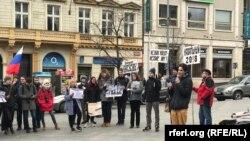 """""""Забастовка избирателей"""" в центре Праги"""