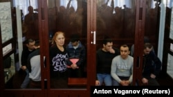 2017-nji ýylda Sankt-Peterburgyň metrosynda bolan ýowuz partlama gatnaşygy bolmakdagüman edilýän tussaglar