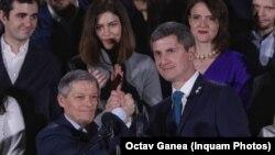 Dacian Cioloș și Dan Barna la primul tur al alegerilor prezidențiale