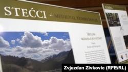 Izložba o stećcima u Parlamentu BiH