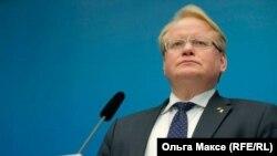 Министр обороны Швеции Петер Хульквист