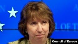 Avropa İttifaqının xarici işlər komissarı Catherine Ashton