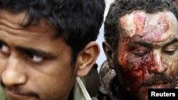 Участники боев с правительственными войсками Ливии