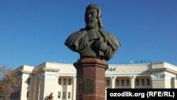 Вид Ташкентского университета узбекского языка и литературы имени Алишера Навои до реконструкции.