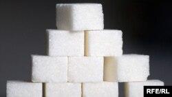 Рафинированный сахар. Иллюстративное фото.
