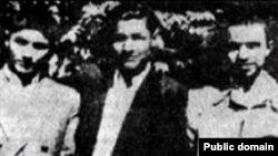از راست: احمد قندچی، مصطفی بزرگ نیا و مهدی شریعت رضوی