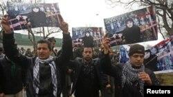 Pamje nga protesta e sotme në Kabul