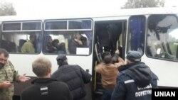 Эвакуация людей в населенных пунктах возле Ични