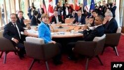 Գերմանիա - Մեծ յոթնյակի գագաթնաժողովը Գարմիշ-Պարտենկիրխենում, 7-ը հունիսի, 2015թ.