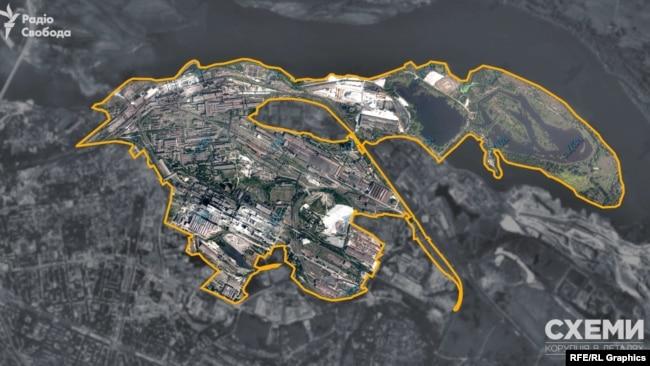 Санітарно-захисна зона простягається на кілька кілометрів довкола меткомбінату