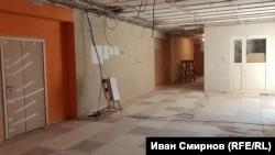 В школе, где был штаб, идет ремонт. Впервые за многие годы